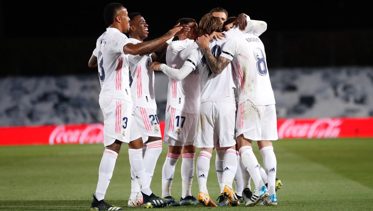 Dramático triunfo del Real Madrid. Foto: Twitter Real Madrid
