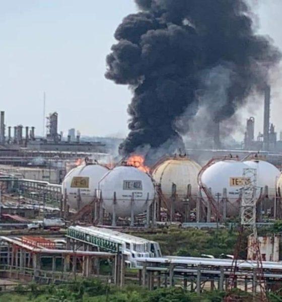 Explosión en refinería de Minatitlán, en Veracruz; sin lesionados