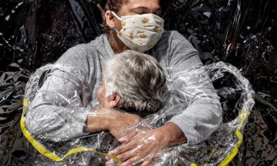 """El primer abrazo"" gana premio en World Press Photo"