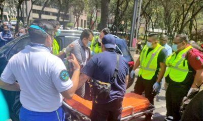 Intento de robo deja automovilista lesionado en Reforma