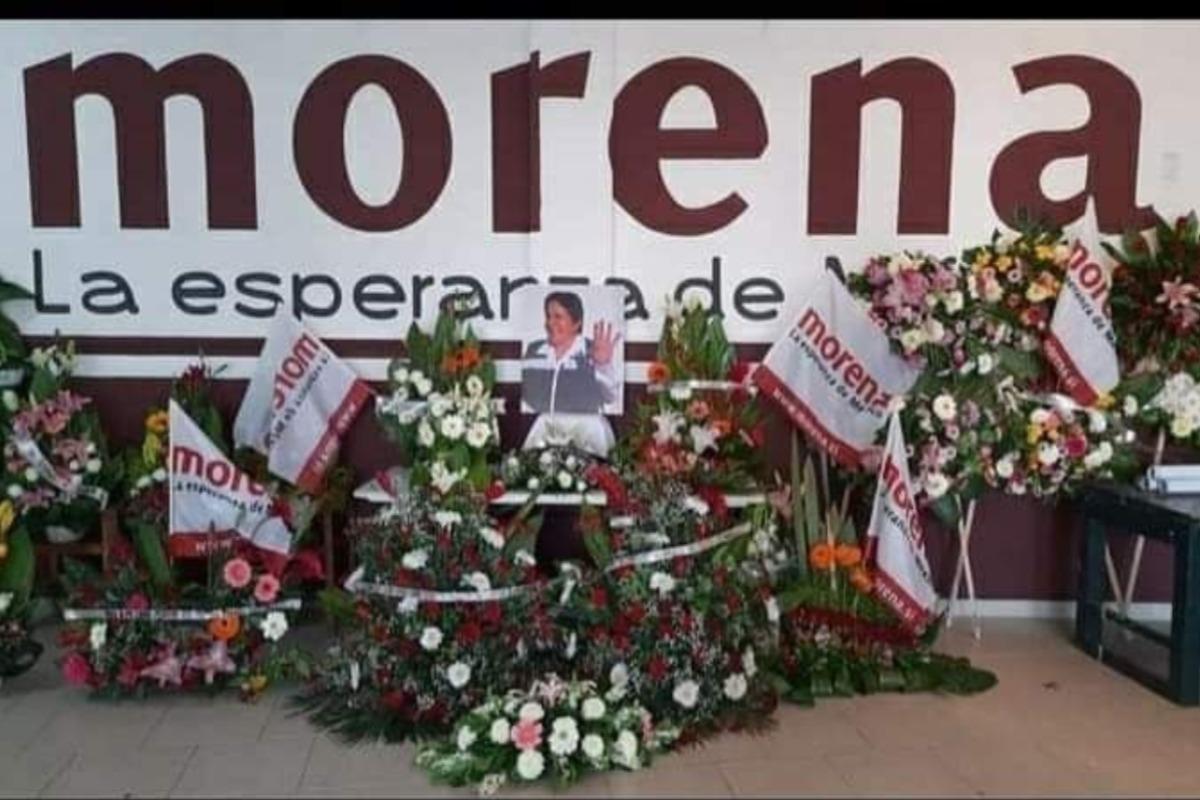 Muere candidata de Morena a diputada por Michoacán por un infarto