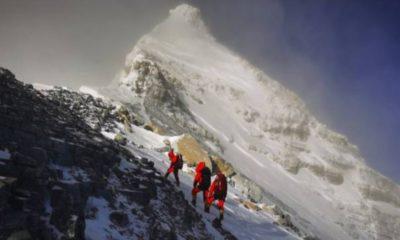Confirman primer caso de Covid-19... en el monte Everest