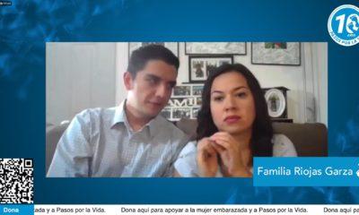 Familia Riojas Garza le cambió la vida a dos adolescentes. Foto: Facebook