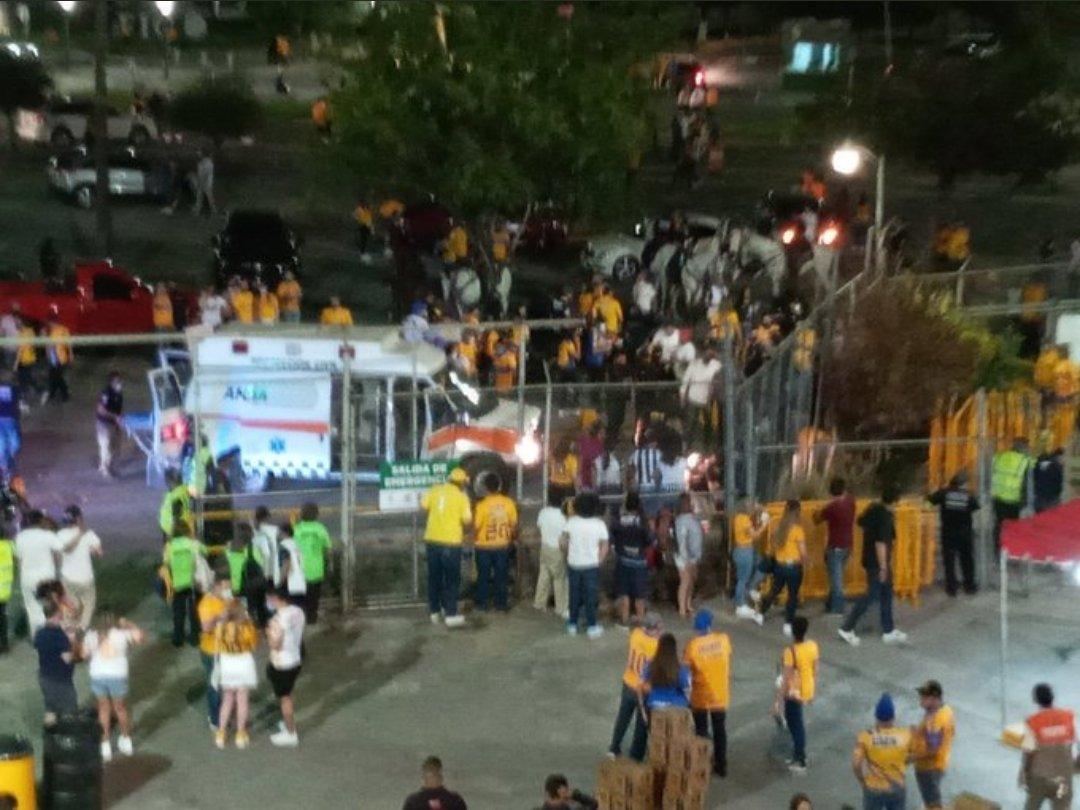 Fin de semana de violencia en la Liga MX. Foto: Twitter