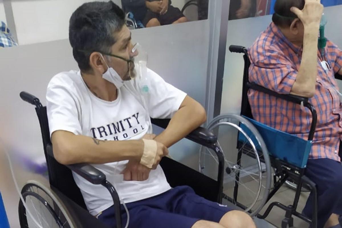 Hospitalizan a exjugador de Cruz Azul por complicaciones de Covid . Foto: Twitter