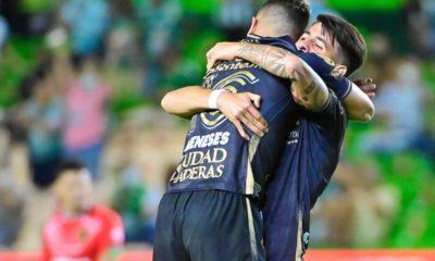 León le pega a los Bravos. Foto: Twitter León
