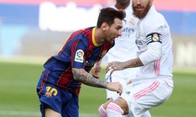 Lionel Messi con el Barcelona. Foto: Twitter