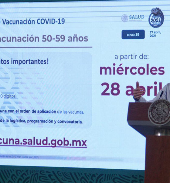 """López Gatell con """"catarro"""" dice que se vacunará cuando le toque"""