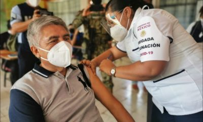 México rebasa los 11 millones de vacunados contra la Covid-19. Foto: Cuartoscuro