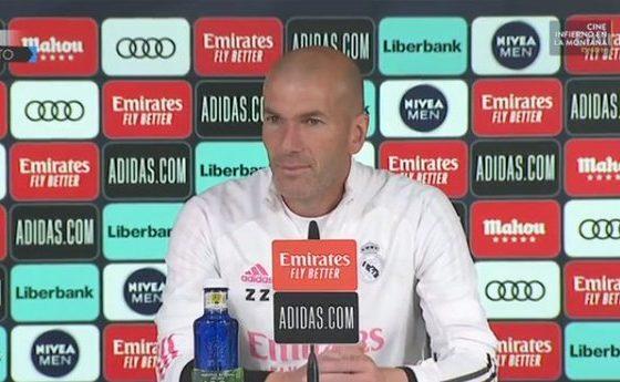 Molesto Zinedine Zidane. Foto: Twitter