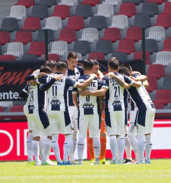 Rayados del Monterrey ya recibió vacuna contra Covid-19. Foto: Twitter César Montes