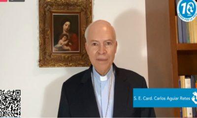 Pide cardenal Aguiar Retes no tener miedo a defender la vida