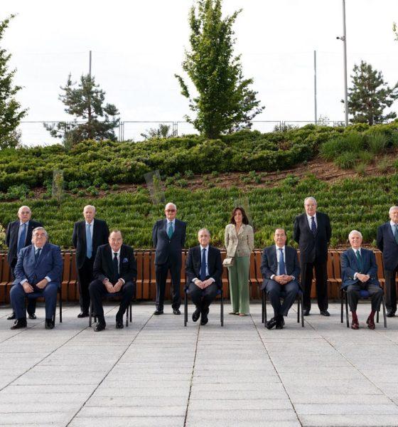 Se mantiene Florentino Pérez como presidente del Real Madrid. Foto: Twitter Real Madrid