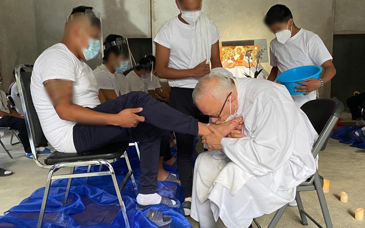 Centros Penitenciarios de CDMX conmemoran Semana Santa