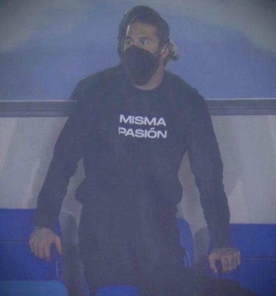 Sergio Ramos dio positivo por Covid-19. Foto: Twitter