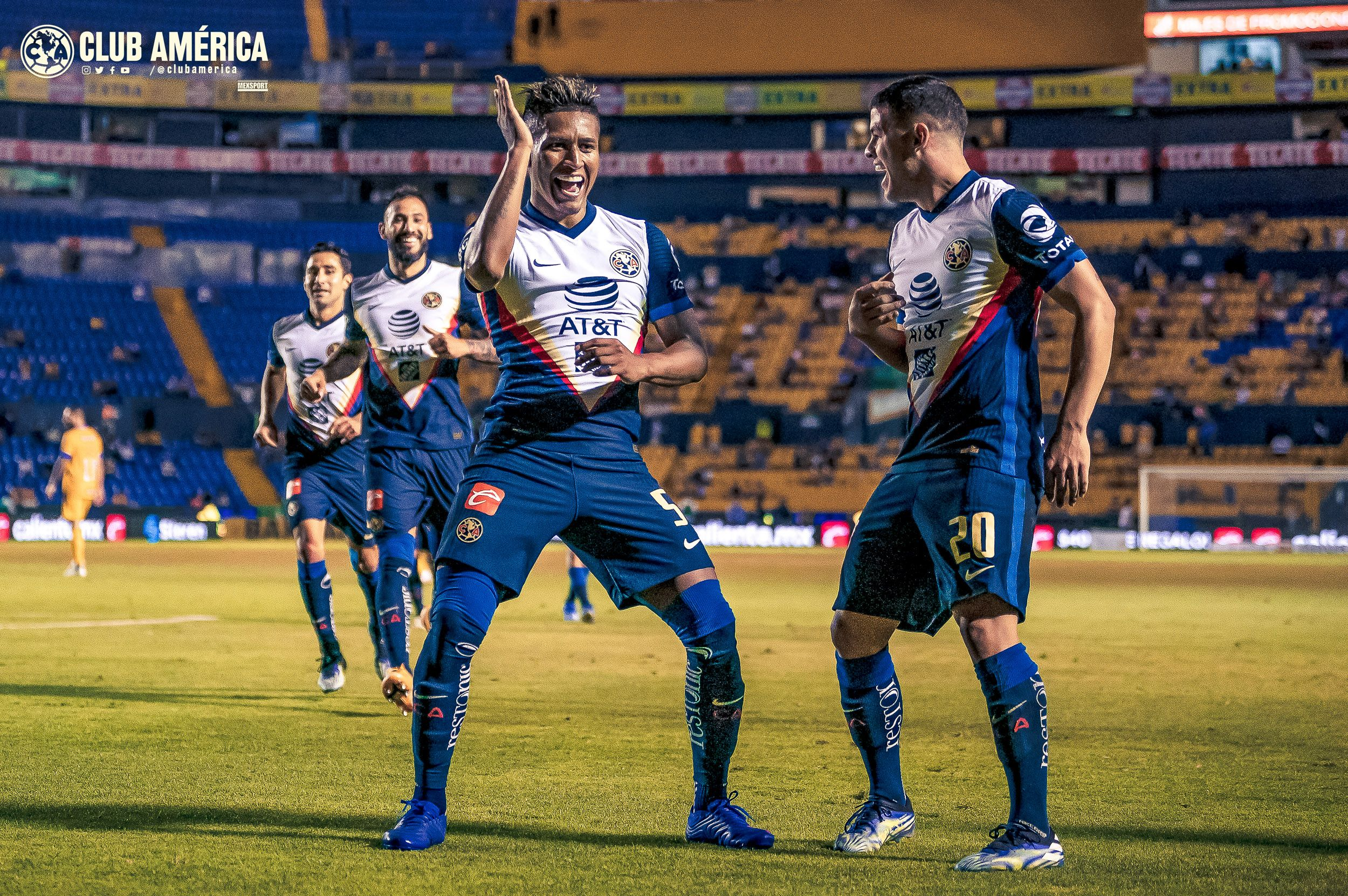 Victoria de América ante Tigres. Foto: Twitter