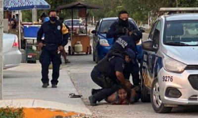 Vinculan a proceso a cuatro policías por la muerte de Victoria Salazar. Foto: Twitter