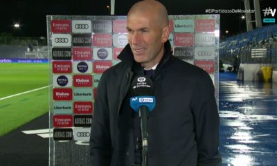 Zidane sin temor a la venganza. Foto: Twitter