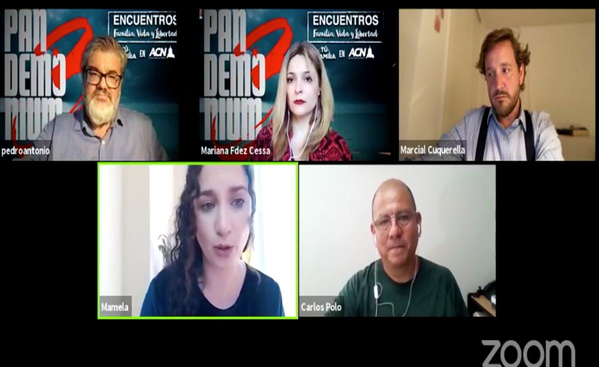 Activistas provida hablan del Nuevo Orden Mundial