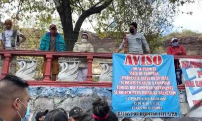 Capitalinos exigen ingresar a Balneario, pese a estar suspendido