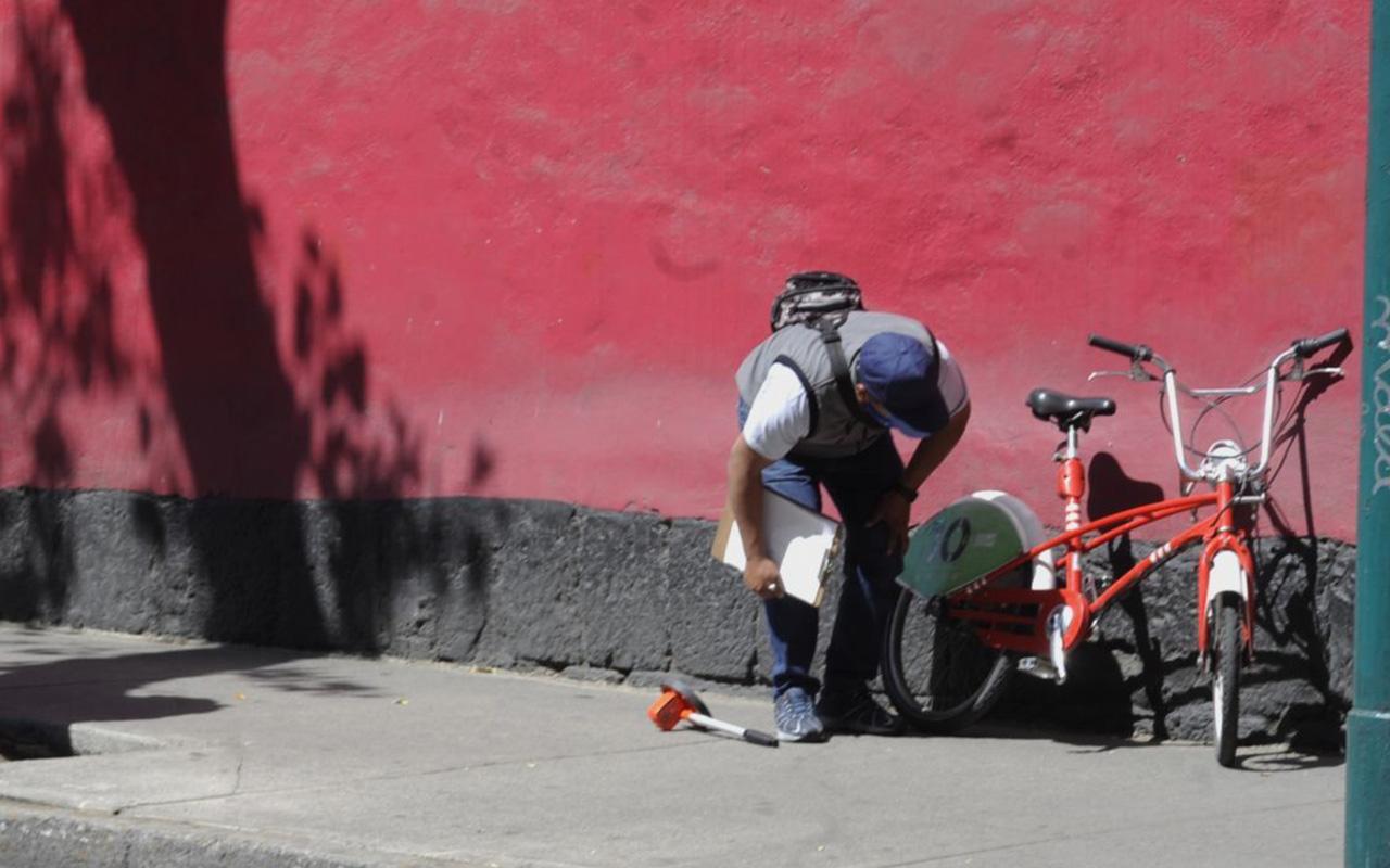 Detienen en Chimalhuacán a chofer que atropelló a ciclista en CDMX