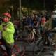 Ciclistas protestan por adolescente que fue atropellado