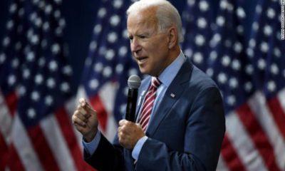 """Reconoce Biden """"epidemia"""" de armas en Estados Unidos"""