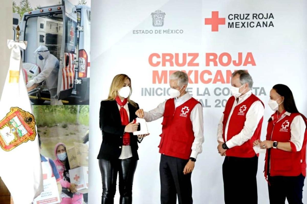 Inicia colecta de la Cruz Roja en el Estado de México