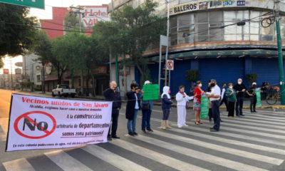 Vecinos de Azcapotzalco protestan por falta de agua