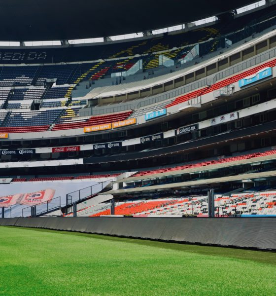 Abren sus puertas el Estadio Azteca. Foto: Twitter Estadio Azteca