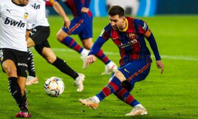 Analizan sancionar a Messi. Foto: Twitter