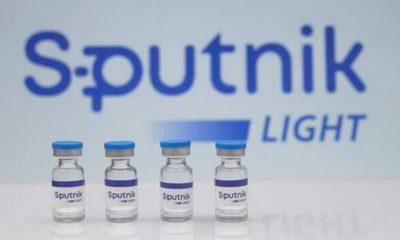 Aprueban vacuna Sputnik Light de una sola dosis