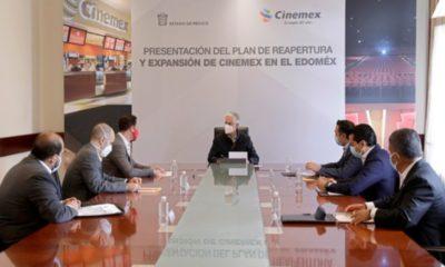 Anuncia cadena de cines inversión y reapertura de salas en Edomex