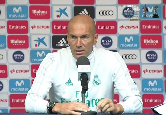 Explota Zidane tras mal arbitraje. Foto: Twitter