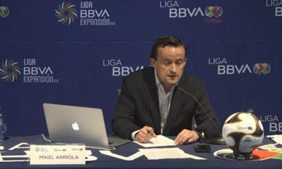 Mikel Arriola se acaba el gol de visitante en la Liga MX. Foto: Youtube