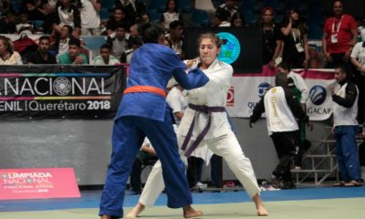 Judoca Karla Monterrosa. Foto: Especial