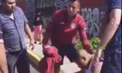 Jugadores de Cruz Azul atropellaron a persona. Foto: Twitter