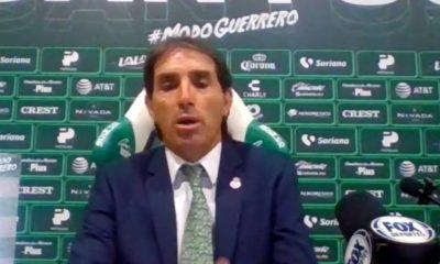 Lanza Almada fuerte crítica contra el Vasco Aguirre. Foto: Twitter