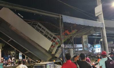 Así cayó la estructura de la Línea 12 del Metro de la CDMX