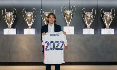 Real Madrid renueva contrato de Modric. Foto: Twitter Real Madrid