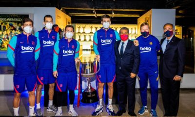 Ronald Koeman saldría del Barcelona. Foto: Twitter
