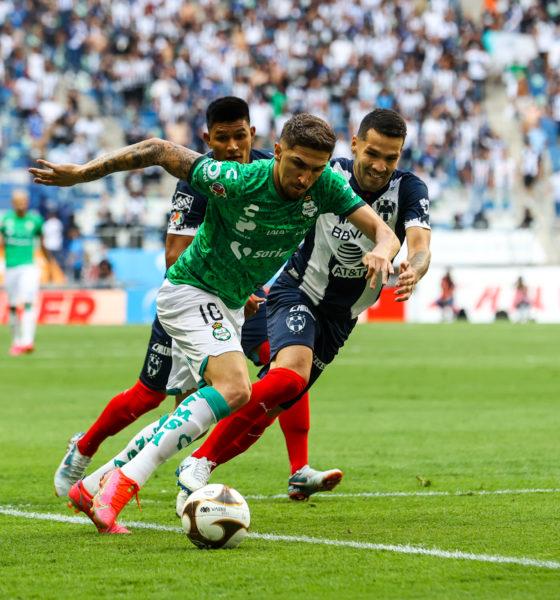 Santos Laguna elimina a Monterrey. Foto: Twitter