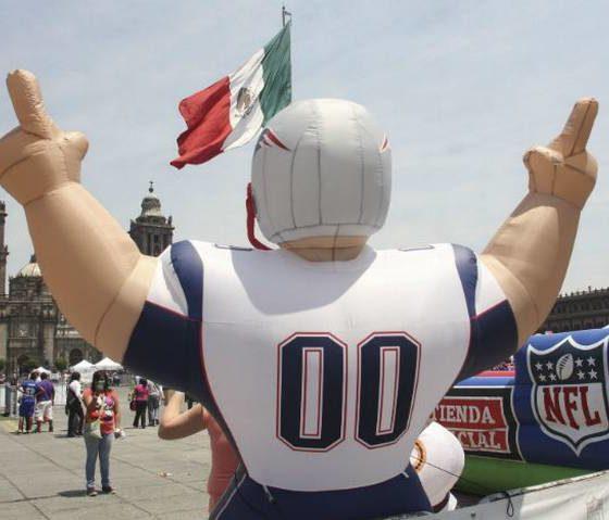 Se pospone el partido de la NFL en México. Foto: Cuartoscuro