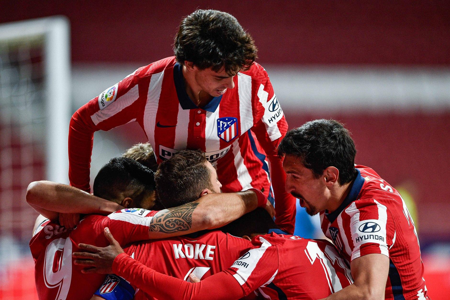 Sufrida victoria del Atlético de Madrid. Foto: Twitter