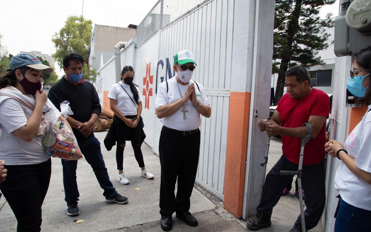 Arquidiócesis de Tlalnepantla brinda consuelo a víctimas de la emergencia sanitaria