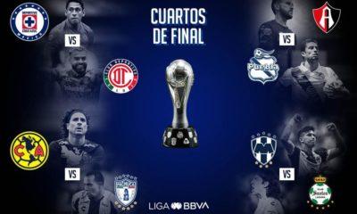 Así quedaron los horarios de cuartos de final. Foto: Liga MX