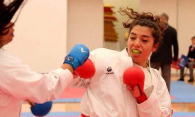 Alumnos de Karate Do de la UNAM. Foto: Especial