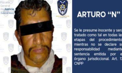 Detienen en CDMX a presunto feminicida serial por casos en Tlalpan