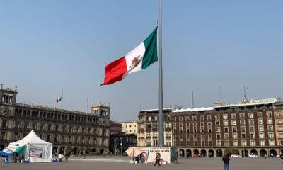 Bandera continúa a media asta por luto nacional
