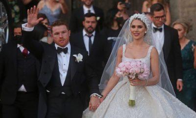 boda del CANELO, CON j bALVIN Y pRINCE rOYCE COMO INVITADOS
